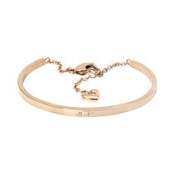 Rose Gold Heart Cuff (SS)