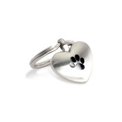 Dog Heart Charm (SS)