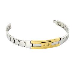 Two Tone Watch Bracelet (SS)