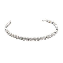 Infinity Tennis Bracelet (SS)