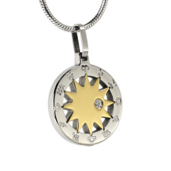 Astrology Star Pendant (SS)